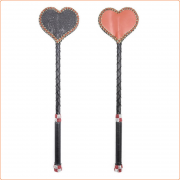 Heart Shape With Lace Riding Crop