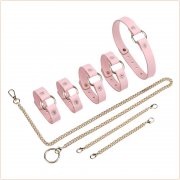 Diamond 3 PCS PU Leather Bondage Kit