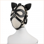 Cosplay Bondage Hood With Ear