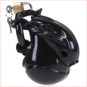Full Egg Locker Male Chastity Cage