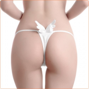 Sexy Ladies Back Angel Wings G-string Panties